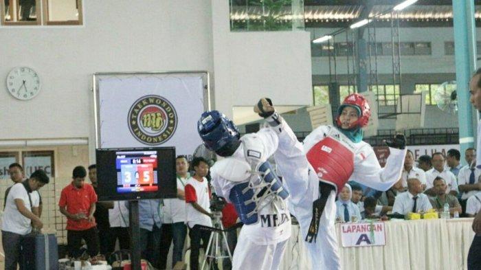 SOSOK Nadil Khairani, Atlet Taekwondo Sumut, Tetap Semangat Berlatih Walau Sempat Cidera