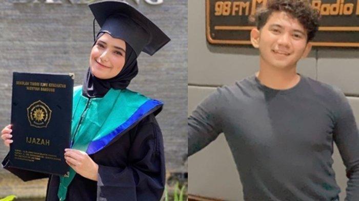 Nadya Mustika Rahayu wisuda tanpa didampingi suami