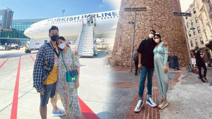 Nagita Slavina dan Raffi Ahmad Saat berada di Turki
