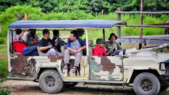 Naik Mobil Safari ke Sabana
