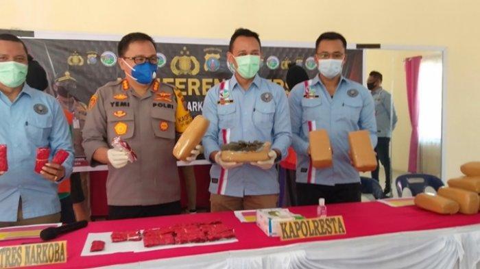 Kurir Narkoba Dijebak Bandar, Ditangkap Polisi Bersama Barang Bukti 2.297 Butir Pil Happy Five