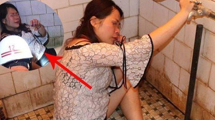 Nasib Wanita Mabuk Terjebak dalam Kamar Mandi, Kaki Terjepit di Lubang Toilet, Panggilan Darurat
