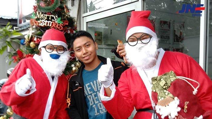 Semarak Natal di JNE