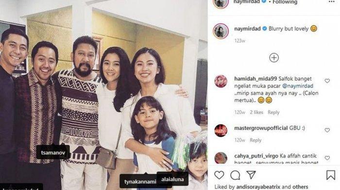 Kekasih Naysila Mirdad, Roestiandi Tsamanov ikut memberi kejutan ulang tahun Jamal Mirdad