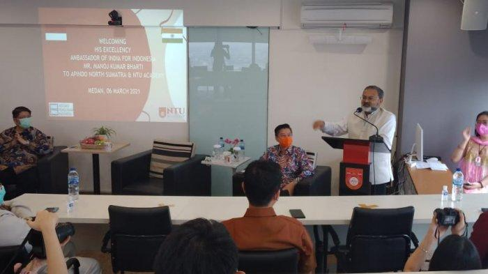 Dubes India Berkunjung ke NTU Academy Tawarkan Kerjasama di Bidang Pendidikan