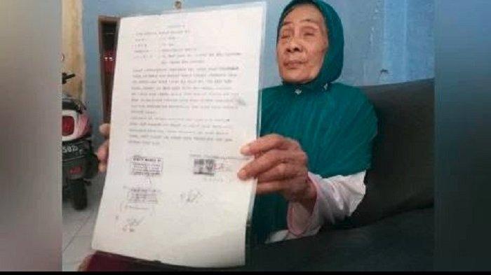 Mengulik 5 Fakta Menyasar Nenek Cicih, Dilaporkan 4 Anak Kandung ke Polisi perihal Warisan