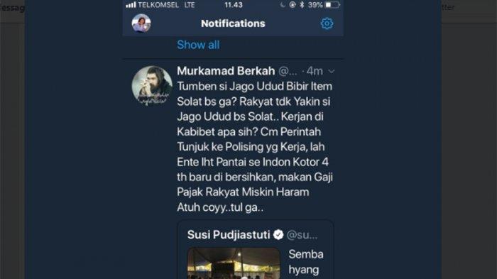 Menohok Respons Menteri Susi saat Dinyinyiri Netizen Gak Bisa Sholat dan . . .