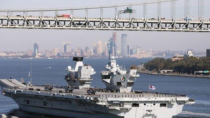 Inggris Mengamuk Sampai Kirimkan Kapal Induk ke Laut China Selatan, Begini Reaksi Tiongkok