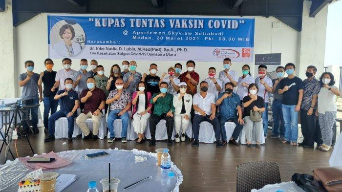 YEC Sumut Kembali Adakan Ngobris dengan Tema 'Kumpas Tuntas Vaksin Covid'
