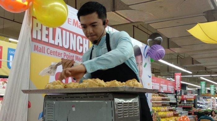Relaunch Lotte Mart Medan Center Point, Bake in Bareng Chef Nicky Tirta
