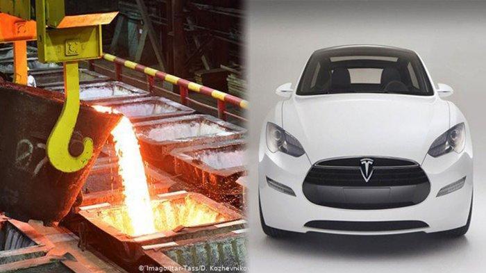 Indonesia Produsen Nikel Terbesar di Dunia, Hingga Tesla Pelopori Mobil Listrik Seharga Miliaran