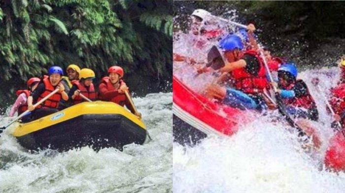 UJI Adrenalin, Nikmati Keseruan Arung Jeram di Sungai Lae Renun Kabupaten Dairi