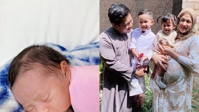 Nina Zatulini melahirkan anak ketiga