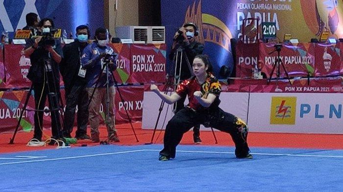 Juwita Persembahkan Medali Emas untuk Sumut di PON XX, Resmi Akhiri Profesi Sebagai Atlet Wushu