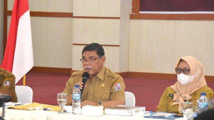 Wabup HM Ali Yusuf Siregar Buka Rapat Pleno TPKAD Deli Serdang Tahun 2021
