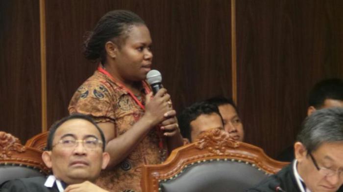Novela, Saksi Prabowo-Hatta yang Segarkan Suasana Sidang MK