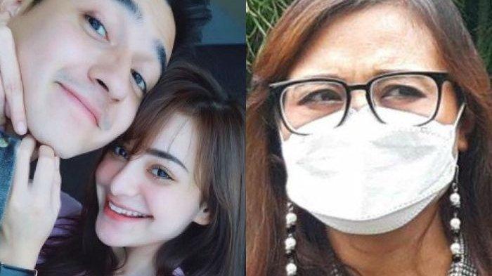 Ist dan Warta Kota/Arie Puji Waluyo Nuning Irpana, wanita yang dinikahi Aliff Alli tahun 2011 di KUA Cilandak, ketika ditemui di PA Jakarta Pusat, Senin (24/5/2021)