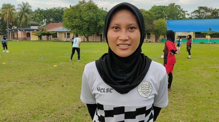 BIKIN BANGGA Warga Asahan, Nurhayati Jadi Satu-satunya Atlet Sepak Bola Wanita yang Dipanggil Timnas
