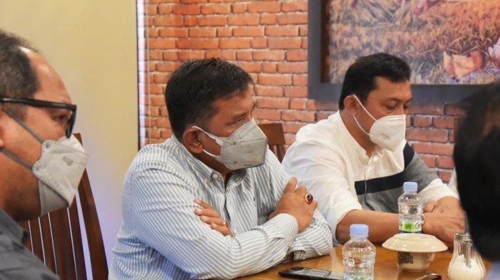 Sekda Darwin Zein Hadiri Diskusi Terkait Pandemi Covid-19 di Kecamatan Tanjung Morawa