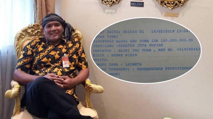 Presiden Jokowi Berikan Rp 100 Juta ke Togu Simorangkir untuk Bangun Perpustakaan di Samosir