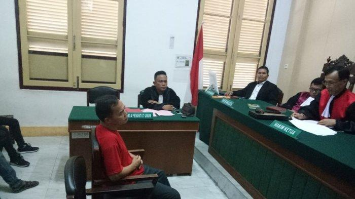 Cabul! Keponakan hingga 5 Kali, Guru SMPN 8 Medan Kasim Ginting Divonis 7 Tahun Penjara