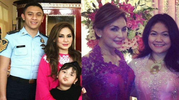 Olivia Daniaty bersama keluarga