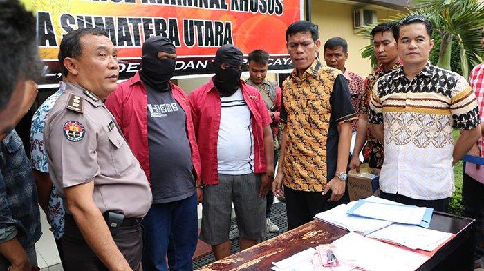 Dirkrimsus Polda Sumut OTT Petugas Kantor Kesyahbadaran Pelabuhan Tanjung Balai