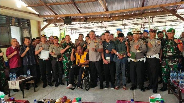 FOTO-FOTO, Kekompakan Pangdam I/BB dan Kapolda Sumut Pascabentrok Oknum TNI vs Polisi di Taput - pahe-julu.jpg