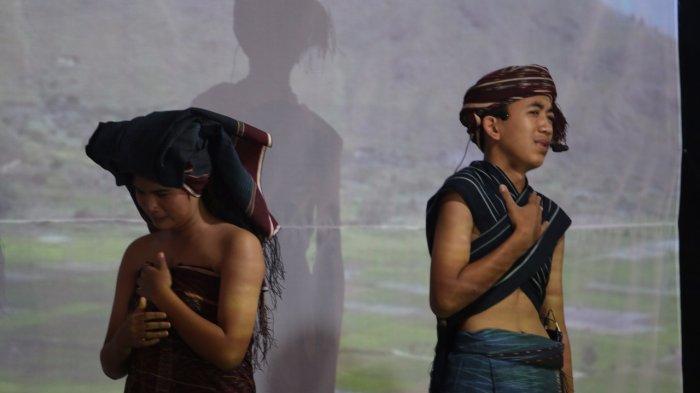 100 Kain Tenun Nusantara Dipertontontakn dalam Pameran Ulos dan Tenun Nusantara