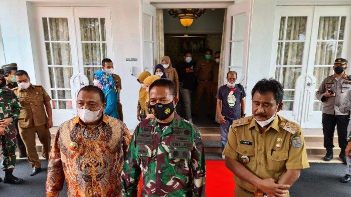 Pangdam Hassanudin Ajak TNI Bantu Penanggulangan Covid-19