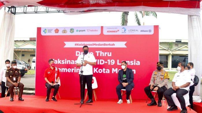 Jadi Role Model Daerah Lain, Panglima TNI dan Kapolri Puji Drive Thru Vaksinasi Covid-19 di Medan