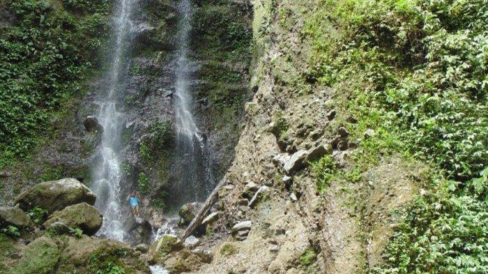 Pesona Mentari Pagi Tiga Sejoli di Desa Telagah, Air Terjun yang Punya Tiga Tingkat