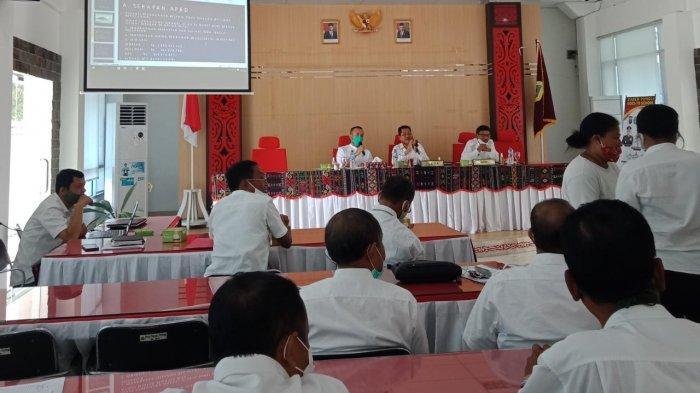 Pansus Covid-19 DPRD Sumut Sambangi Samosir