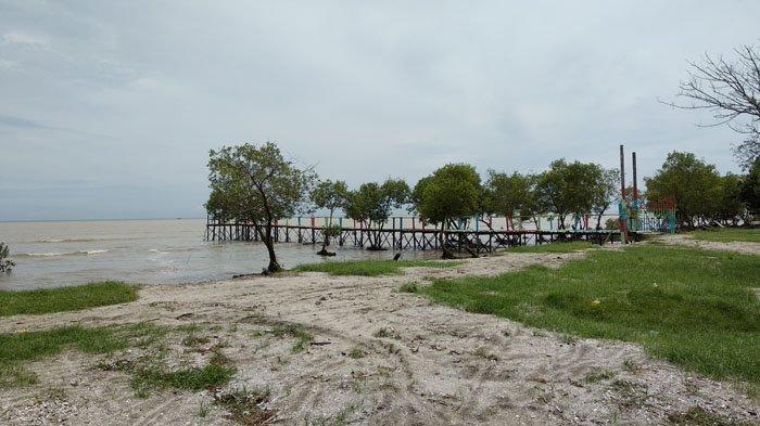 Pantai Muara Serdang di Sumatera Utara