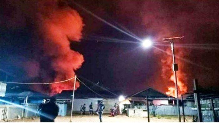 PAPUA Rusuh, Hendrik Simatupang Tewas, 32 Rumah Dibakar, Pendatang Pilih Ngungsi