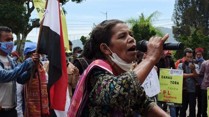 Diacuhkan Bupati Toba dan Sekda Toba, Demonstran Aliansi Gerak Tutup TPL Kecewa