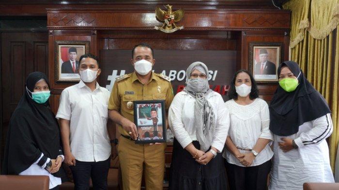 Sejumlah Guru Honor Bersilaturahmi dengan Wakil Wali Kota Medan, Mereka Beberkan Keluhan