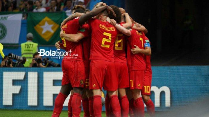 BABAK I: BELGIA Unggul 2-0 Atas BRASIL, De Bruyne Cetak Gol