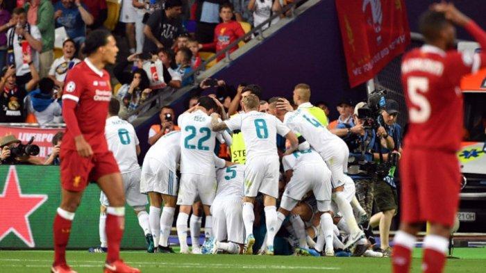 SIARAN Langsung Real Madrid Vs Liverpool, Live SCTV Jam 02.00, Prediksi Skor,Komentar Zidane-Klopp
