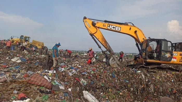 Hampir Penuh, Sampah di TPA Terjun Medan Menggunung hingga Puluhan Meter