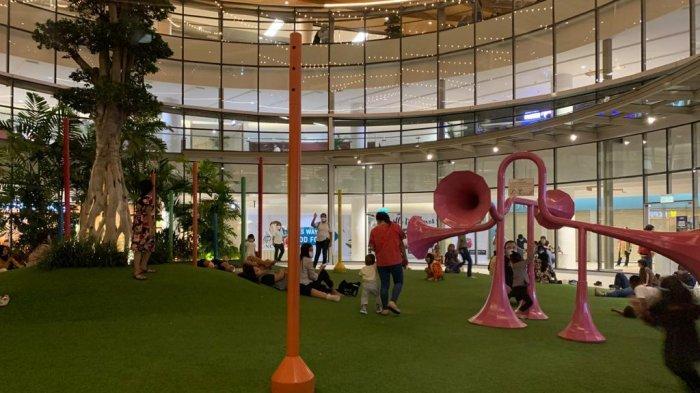 Nikmati Tamasya di Delipark Mall, Ada Taman Terbuka dan Spot Foto Instagramable