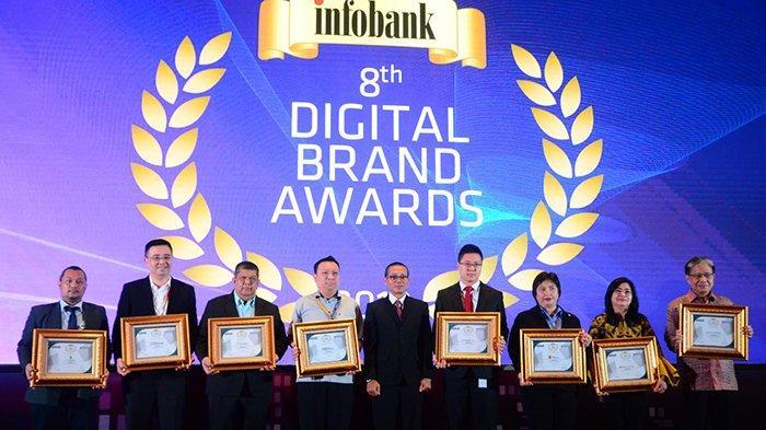 Bank Sumut Raih Infobank Digital Brand Award 2019