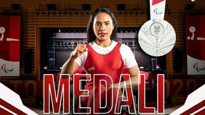 Widiasih Sumbang Medali Pertama Paralimpiade Untuk Indonesia, Catatkan Rekor di Kelas 41 Kg