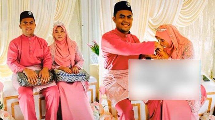 Beda Usia 37 Tahun, Pasangan Ini Menikah dan Akui Saling Cinta, si Anak Minta Ini Pada Ayah Tiri