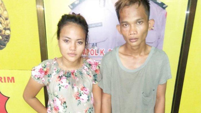 Gadis Cantik Nekat Mencuri Bareng Sang Pacar, Gondol 12 Potong Celana Panjang dan Uang di Laci Kasir