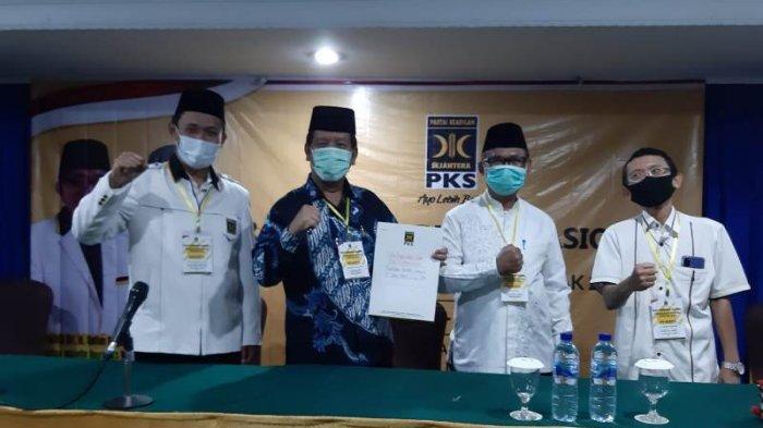 PKS Resmi Dukung Pasangan Radipoh Sinaga - Zonny Waldi Bertarung Pilkada Simalungun