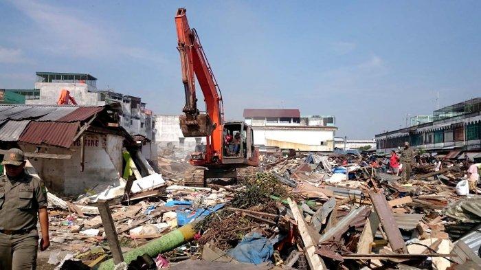 Kontraktor Bantah Belum Melakukan Pembangunan di Pasar Kampung Lalang