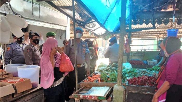 Bikin Heboh, Petugas Gabungan Geruduk Pasar Tradisional Tanjung Beringin, Minta Pembeli 30 Persen