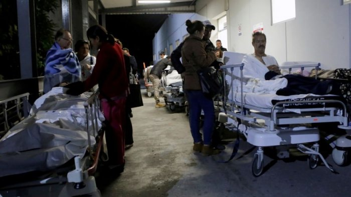 VIDEO: Detik-detik Mengerikan Gempa Dahsyat 8,4 SK Hantam Meksiko, Terancam Tsunami