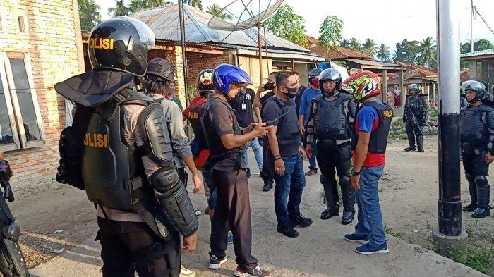 Kerusuhan di Madina, Polisi Tetapkan Tiga Orang Tersangka